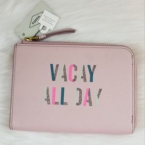 FOSSIL Vacay All Day RFID Passport Wallet